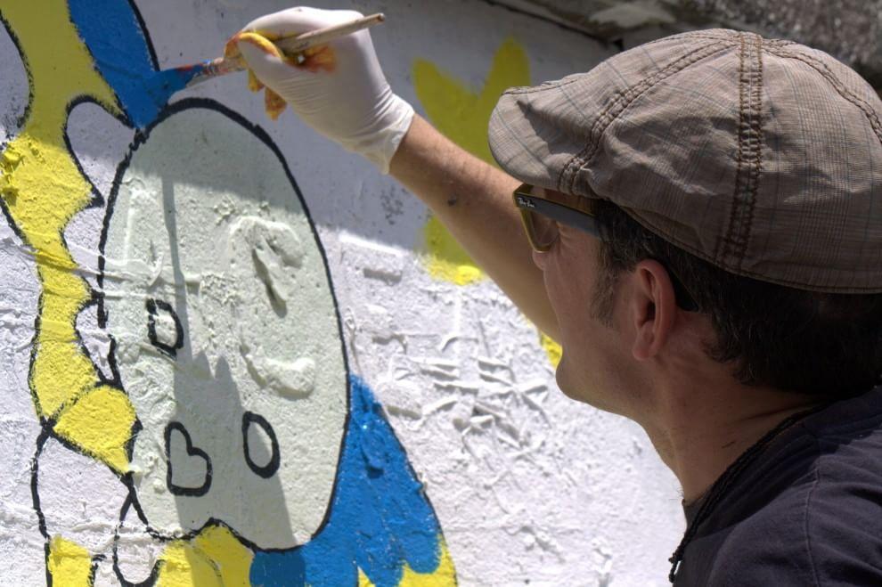 Riscatto a Primavalle, street art contro il degrado