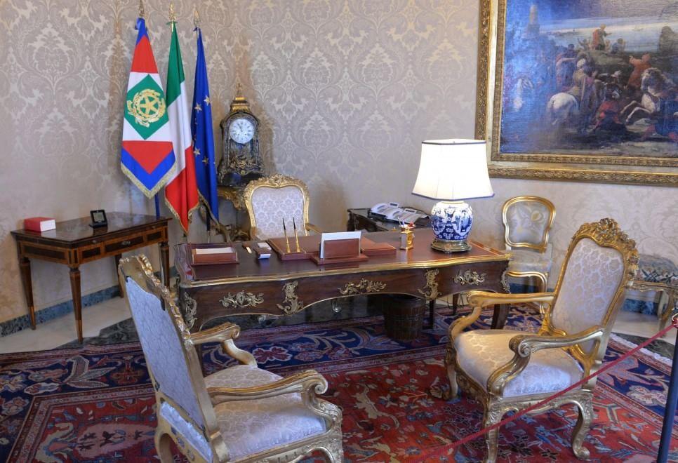 Quirinale aperte al pubblico le stanze segrete e for Stanza ufficio roma