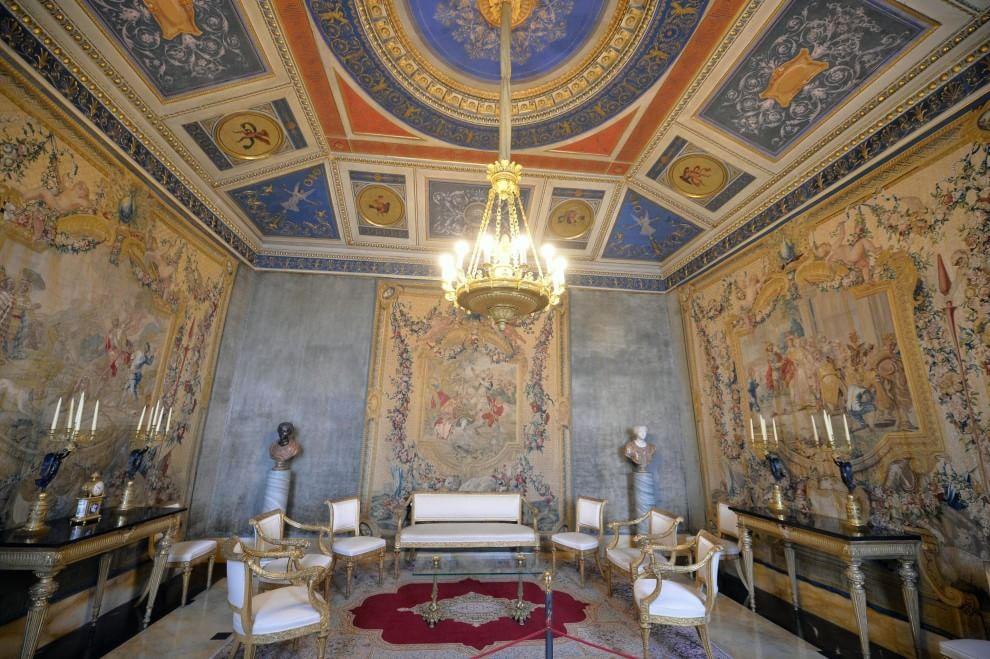 Roma Dentro Il Quirinale Aperte Le Stanze Segrete Foto