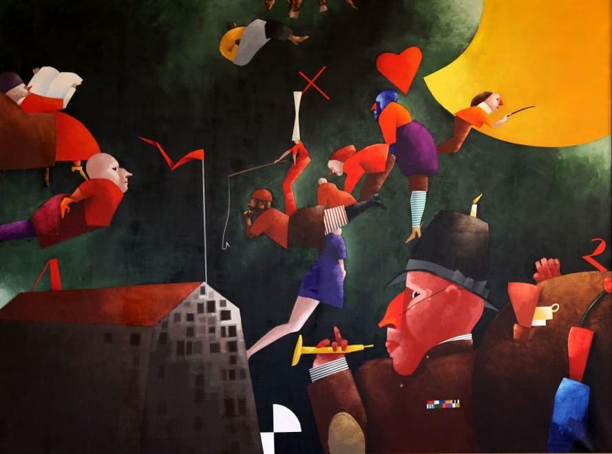 """Alla Gnam """"Corporate Art"""", la mostra tra business e creatività"""