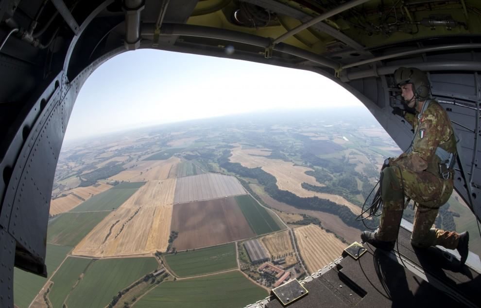 Italian Blade, a Viterbo l'esercitazione con elicotteri più grande d'Europa