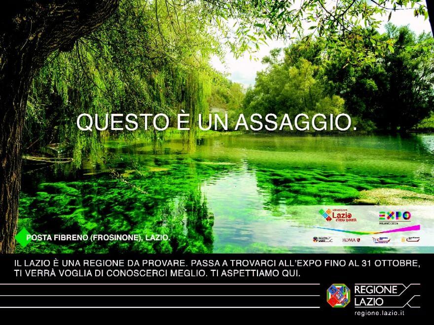 Expo, la Regione Lazio presenta le sue meraviglie