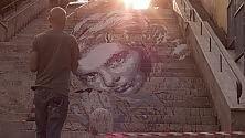 Primavalle, un murales per Ingrid Bergman