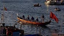 Nel mare di Ponza le gondole di Venezia