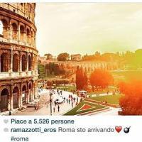 Eros Ramazzotti su Instagram: