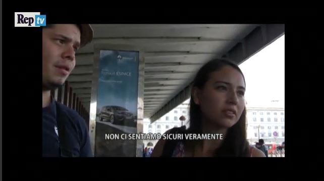 Video:  Rifiuti, furti e racket a Termini ecco cosa pensano i turisti della stazione