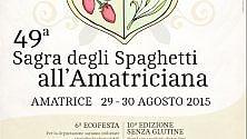 Ad Amatrice la sagra degli spaghetti doc