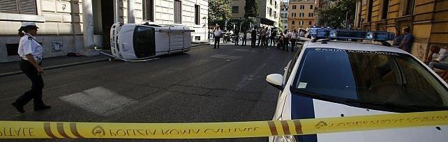Incidente a piazza del Popolo          foto      Aperta un'inchiesta per omicidio colposo