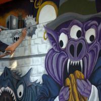 La street art invade Primavalle