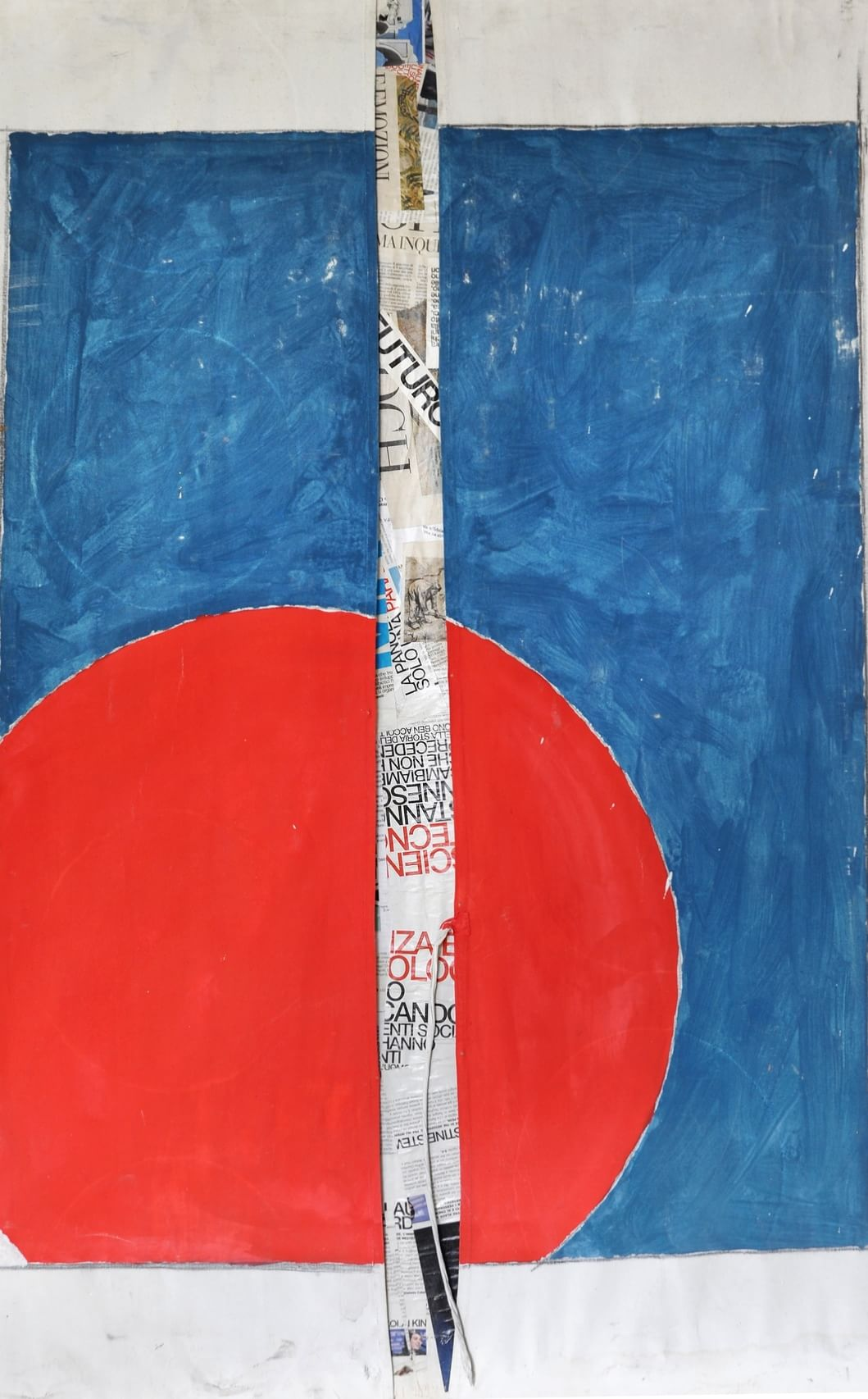 """Riccardo Marchetti, la mostra """"Sole Rosso"""""""
