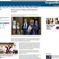 Dimissioni Marino, la notizia sui siti stranieri