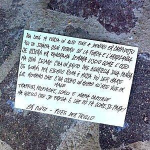 Trullo e la 'Poesia di Strada': tre giorni di parole, performance e street art