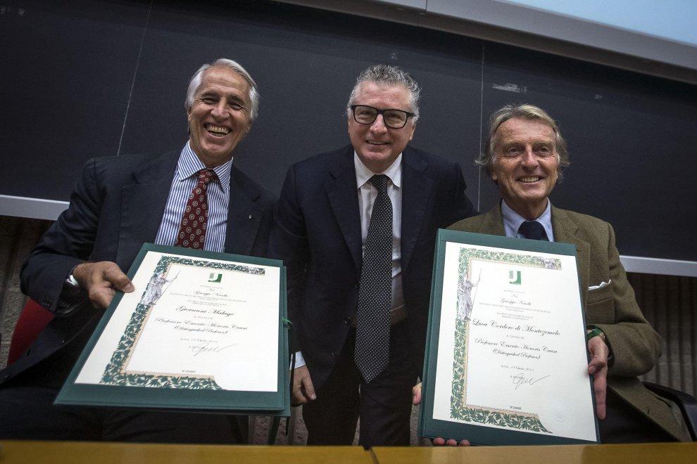 Roma2024, Malagò e Montezemolo all'università di Tor Vergata