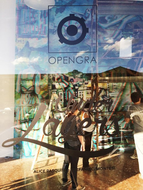 "OpenGra, con ""Under Layers"" la street art incontra il 3D"