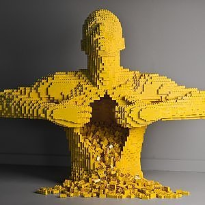 The Art of the Brick: la mostra d'arte dei mattoncini Lego