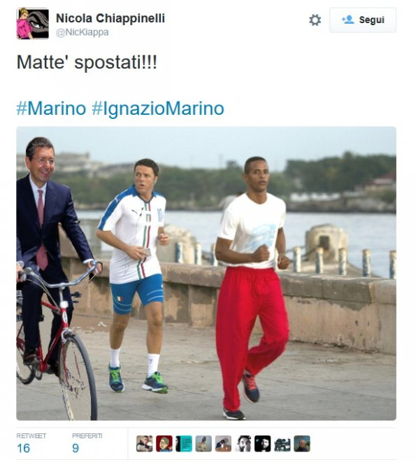 Marino ritira le dimissioni: ironia social su Twitter