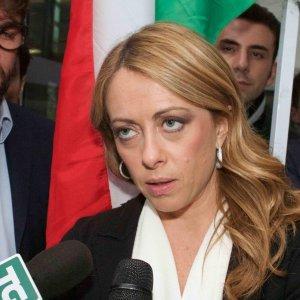 """Meloni: """"Berlusconi sbaglia, non sosterremo Marchini come sindaco di Roma"""""""