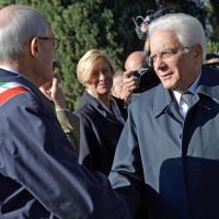 Commemorazione dei caduti militari, Mattarella, Gabrielli e Tronca al Verano