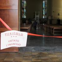 Bruciata la chiesa di Sabaudia, individuato e denunciato il responsabile