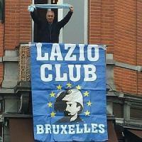 La passione biancoceleste conquista Bruxelles