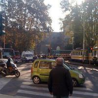 Atac, scontro all'Esquilino tra 2 tram: sei feriti lievi