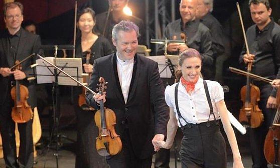 Il violinista e la ballerina, Gran galà di passione