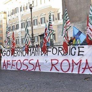 Roma, sciopero dei dipendenti capitolini il 27 gennaio contro i tagli al salario accessorio