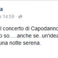 Capodanno, lo sfogo di Fiorella Mannoia: