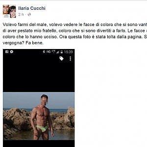 """Ilaria Cucchi su Facebook: """"Ecco la faccia di chi ha ucciso Stefano"""". Ma il carabiniere la denuncia"""