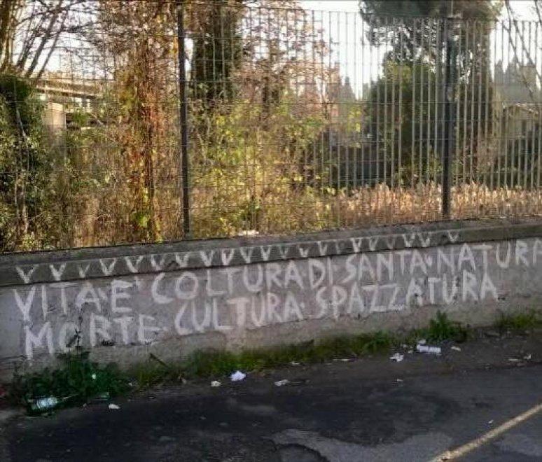 Roma, pulizia straordinaria alla stazione Tiburtina: rimossi manifesti abusivi e cancellate scritte