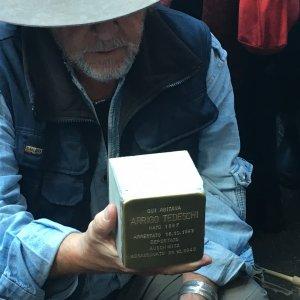 Roma,  Shoah: installate le 11 nuove pietre d'inciampo