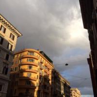 Dalla Nomentana all'Esquilino, su Roma fiocchi di neve