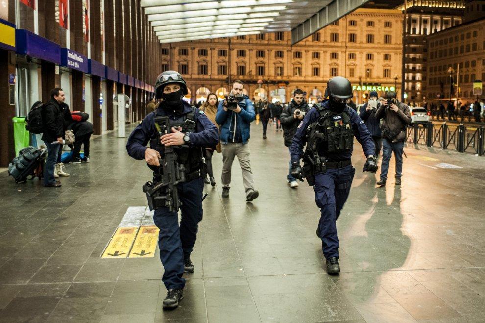 Roma, allarme terrorismo alla stazione Termini