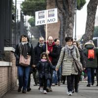 Family Day, migliaia in pullman da fuori Roma: attesa al Circo Massimo