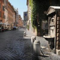 Roma, case del Comune. Tronca: