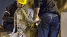 Dopo 4 secoli torna    a casa il Cristo barocco