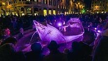 La Barcaccia tinta di viola per giornata dell'epilessia