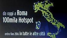 Arriva a Roma il wi-fi sharing