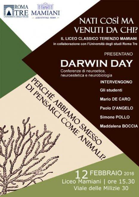 Roma, al Mamiani si festeggia il Darwin Day