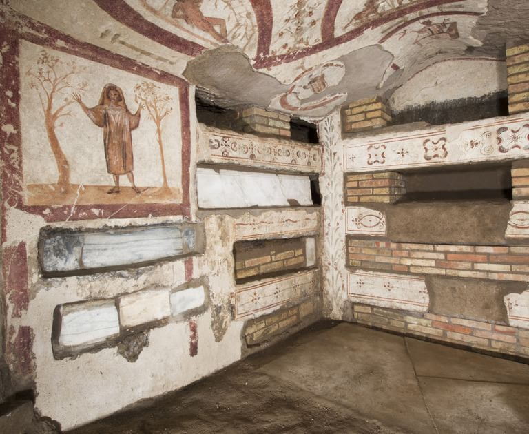 Roma, una matrona in paradiso l'ultimo segreto di Costantino