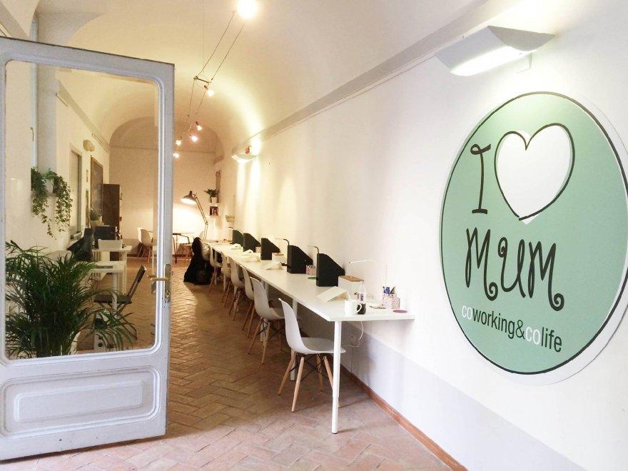 Roma apre i love mum il coworking a trastevere con for Affitto coworking roma