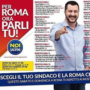 Comunali Roma, nel weekend le 'primarie della Lega': 41 banchetti in città per scegliere tra i 5 candidati sindaco