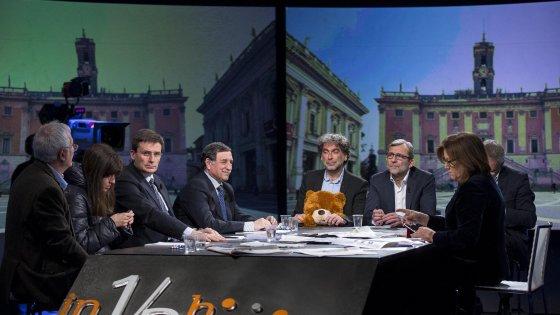 Primarie del centrosinistra a Roma, fair play in tv tra i sei candidati