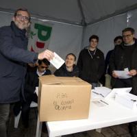 Primarie Pd Roma, i candidati alle urne: Giachetti al seggio Donna Olimpia e Morassut a Grotta Perfetta