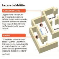 Roma, delitto del Collatino: ecco le stanze delle notti di sangue