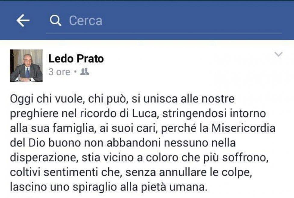 """Omicidio Varani a Roma, l'appello del padre di Prato: """"Preghiamo per Luca"""""""