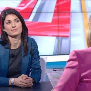 """Comunali a Roma, Raggi (M5S): """"Voglio far star bene i cittadini"""""""