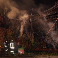Roma, incendio in struttura del Casilino: nessun ferito