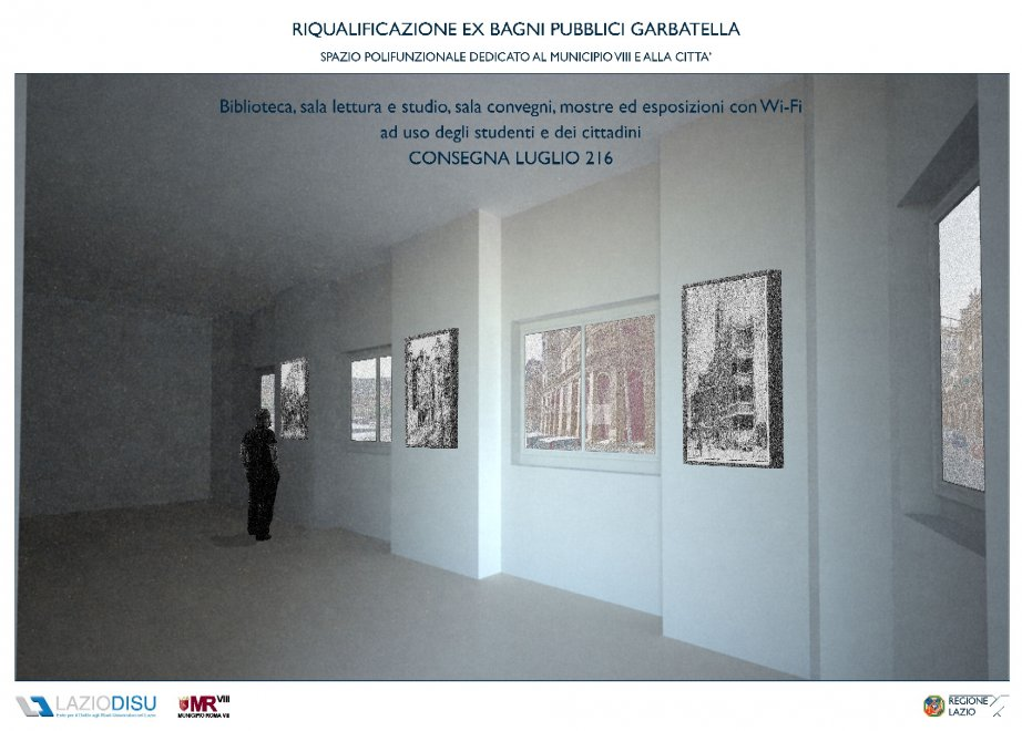 Roma, negli ex bagni pubblici della Garbatella arrivano biblioteca ...