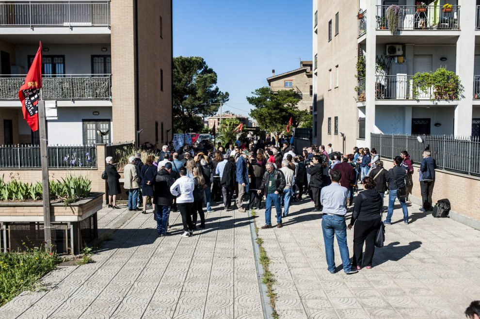 Roma, rimandati i 27 sfratti dei Piani di Zona a Castelverde